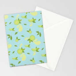 Lime Slice Stationery Cards