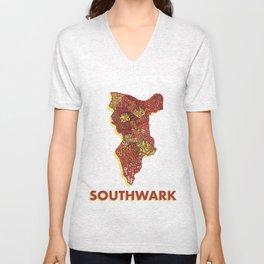 Southwark - London Borough - Colour Unisex V-Neck