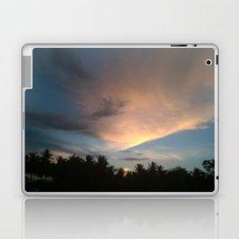 Fox In Socks - Clouds Laptop & iPad Skin