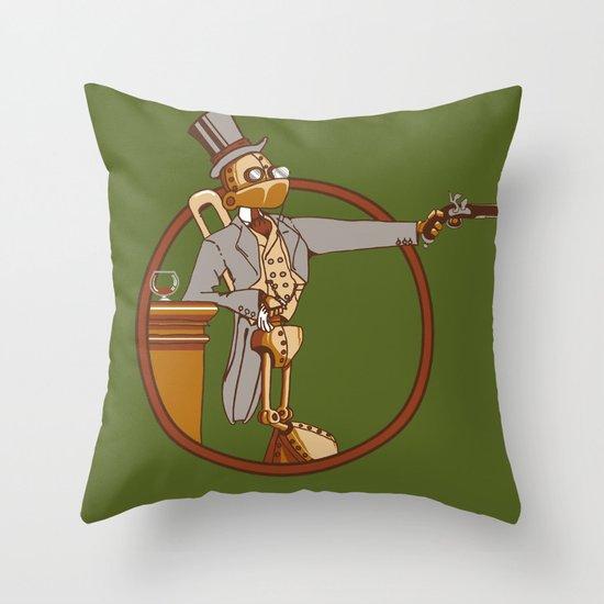 The Windup Duelist Throw Pillow