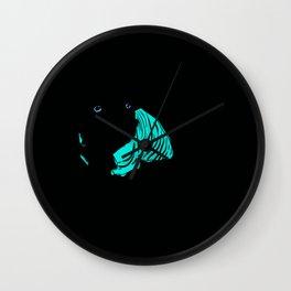 Rocky Dog Wall Clock