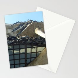 Gaudi From Below Stationery Cards