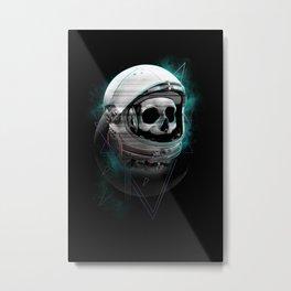 Black Mission II Metal Print