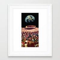 concert Framed Art Prints featuring Concert by Martin Carri