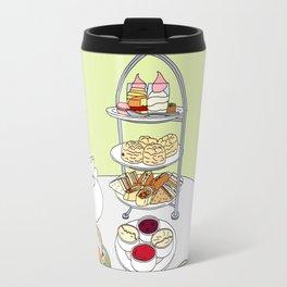 English Afternoon Tea Travel Mug