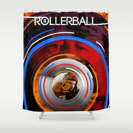 Visions of the Future :: Rollerball Shower Curtain