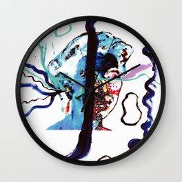 Listening to MUSIC                            by Kay Lipton Wall Clock