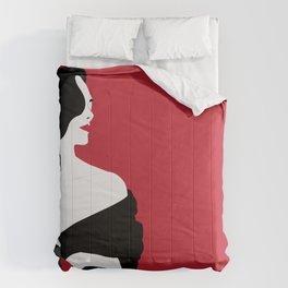 Red woman n1 Comforters