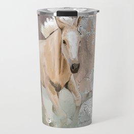 Pretty Palomino Travel Mug