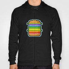 Pixel Hamburger Hoody