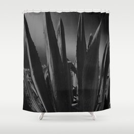MS Maguey IA Monochromatic 2. S6 Shower Curtain