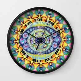 Reflections of my minds eye Wall Clock