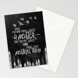 Six of Crows - Monster Stationery Cards