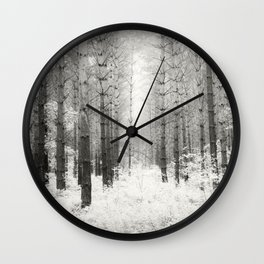Into the Forest - Nr. 3 Wall Clock