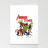avenger Stationery Cards featuring Avenger Time! by ArtisticCole