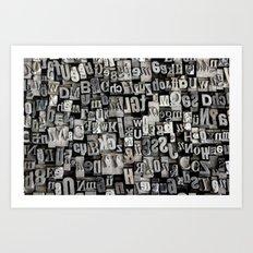 Type I. Art Print