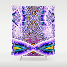 BBQSHOES: Bubbleweb Fractal 9513 Shower Curtain