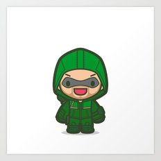 Green Archer Art Print