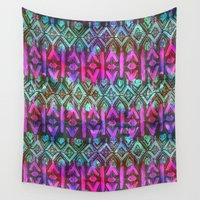 amelie Wall Tapestries featuring Amelie {Pattern 6B} by Schatzi Brown