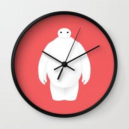 Big Hero 6 - minimal poster Wall Clock