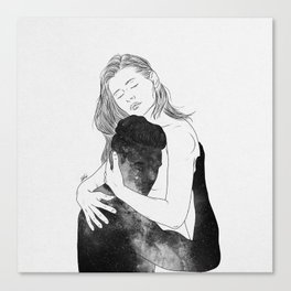 Deeply peaceful heaven. Canvas Print