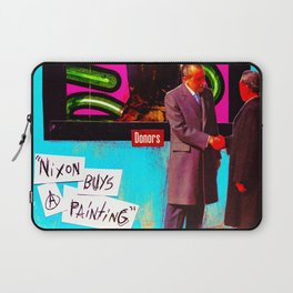 Nixon Buys A Painting Laptop Sleeve