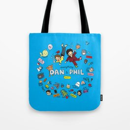 The Vortex of Everything Dan and Phil Tote Bag