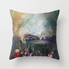 Astral Sphere Throw Pillow