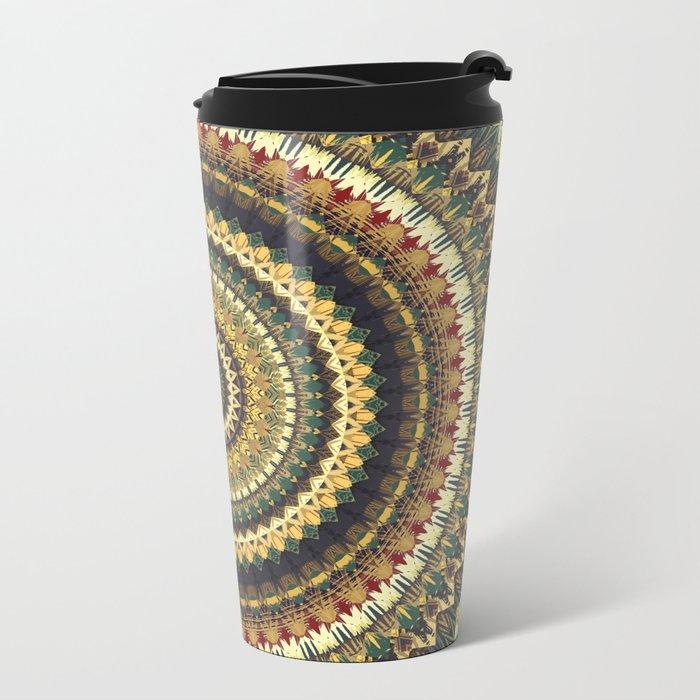 MANDALA DCXLI Metal Travel Mug