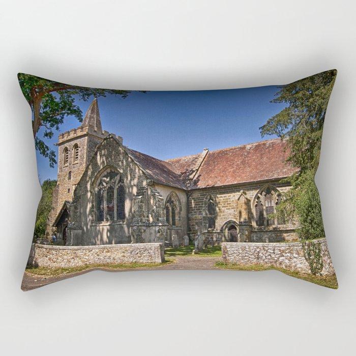 St Margaret of Antioch Isfield Rectangular Pillow