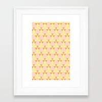 quilt Framed Art Prints featuring Quilt. Quilt. Quilt. by Glassy
