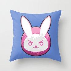 Love D.Va Throw Pillow