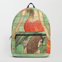 Waterlily Mermaid Backpack