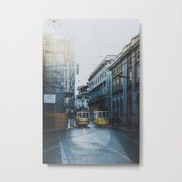 Lisbon, Portugal III Metal Print