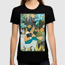 How To Live In The Jungle #illustration #painting T-shirt