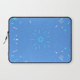 Psychadelic Space Mandala - Periwinkle Laptop Sleeve