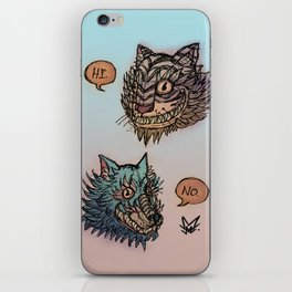 Oh, Okay. iPhone Skin