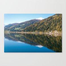 Lake / ekaL Canvas Print