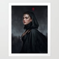 witch Art Prints featuring Witch by Fernanda Suarez
