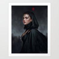 witch Art Prints featuring Witch by Fernanda Suarez
