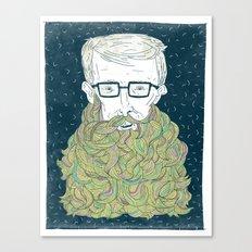 Hipster Beards Canvas Print