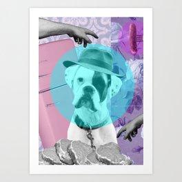 """Fridge Raider"" Art Print"