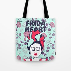 Frida Heart Tote Bag