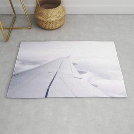 Above the Clouds | White wing Rug