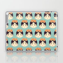 Frida Kahlo print Laptop & iPad Skin