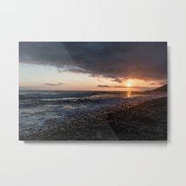 Emma Wood Sunset Metal Print