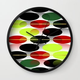 Bright colors of  autumn... Wall Clock