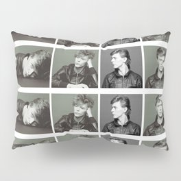 Monochrome Magnificence: Bowie Pillow Sham