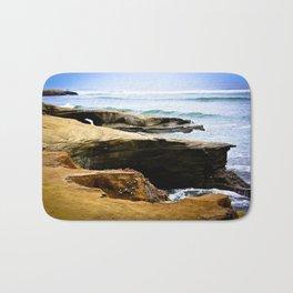 Seaside Cliffs Bath Mat
