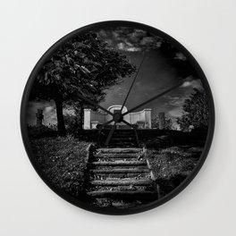 Tombstone Shadow No 9 Wall Clock